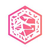 Unfold AR icon