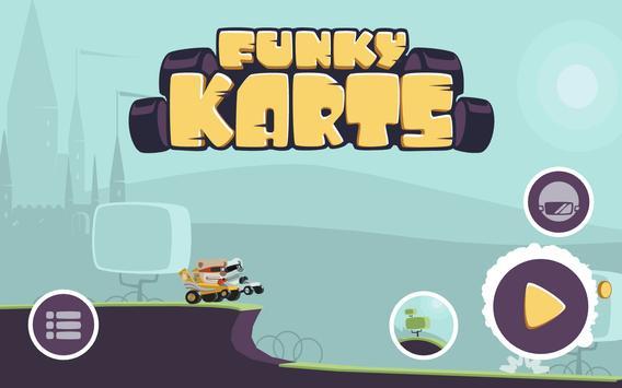 Funky Karts is moving! apk screenshot
