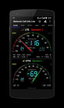 Network Cell Info Lite تصوير الشاشة 4