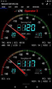 Network Cell Info Lite تصوير الشاشة 8