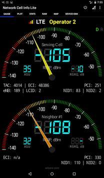 Network Cell Info Lite تصوير الشاشة 13