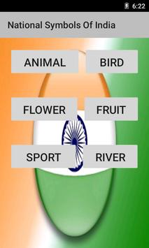 National Symbols Of India poster
