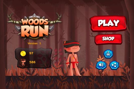 Woods Endless Running poster