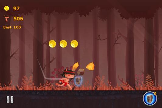 Woods Endless Running apk screenshot