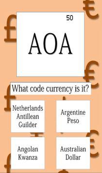Code Currency Quiz screenshot 3