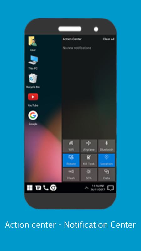 Pc Launcher For Computer Theme For Android