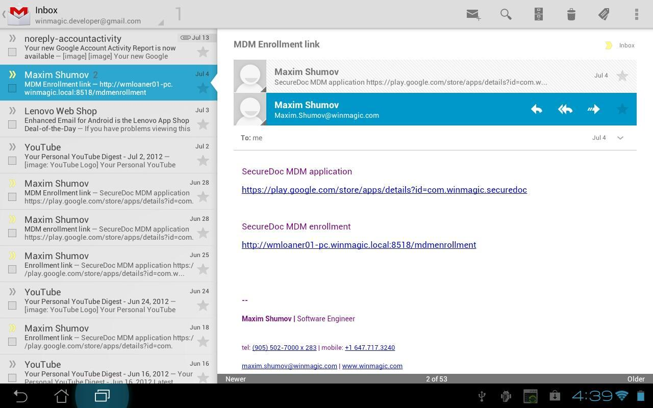 SecureDoc for Android for Android - APK Download