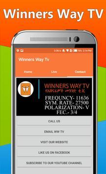 Winners Way TV - WWTV Ethiopian Spiritual TV screenshot 13