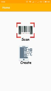 QRCode Scan and Create poster