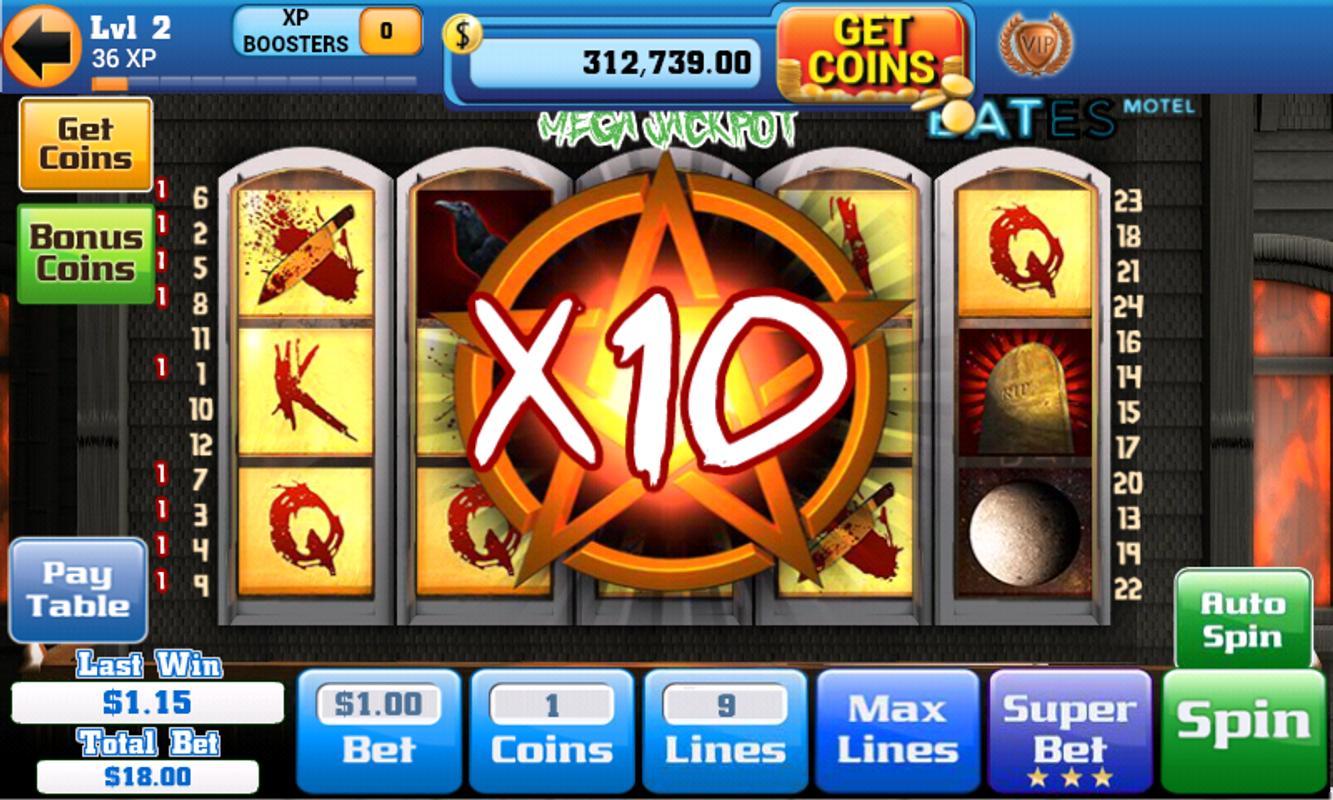 Slot machines de casino gratis
