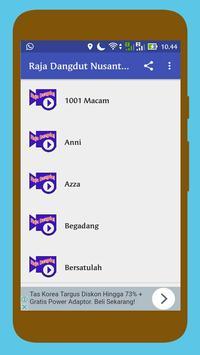 Raja Dangdut Nusantara screenshot 1