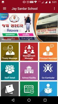 Jay Sardar Vidhyalay poster