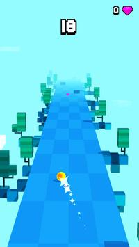 Cloud Ball - Endless Rush Game poster
