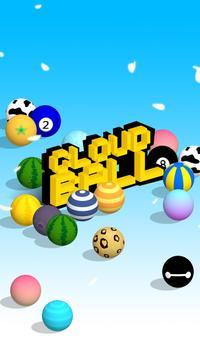 Cloud Ball - Endless Rush Game apk screenshot