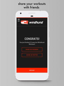 Windhund Workout apk screenshot
