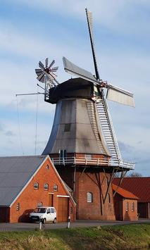 Windmill Wallpaper poster