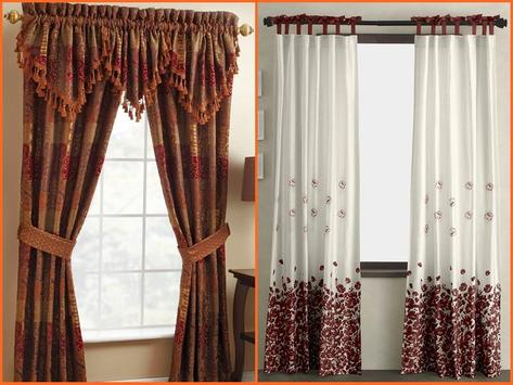 Window Curtain Design Ideas screenshot 5