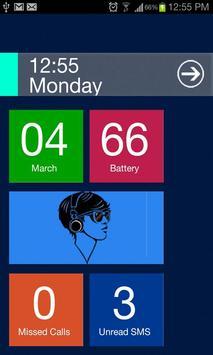 Blue Theme Go Locker poster