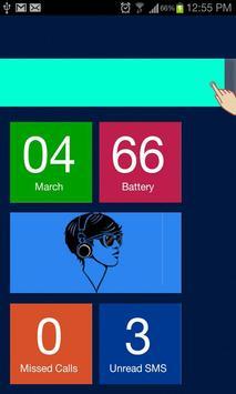 Blue Theme Go Locker apk screenshot