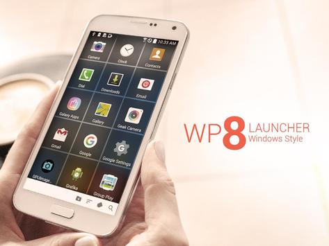 WP 8 Launcher poster