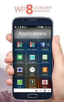 WP 8 Launcher screenshot 2