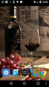 wine bottle wallpaper screenshot 1