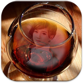 Wine Glass Photo Frames HD icon