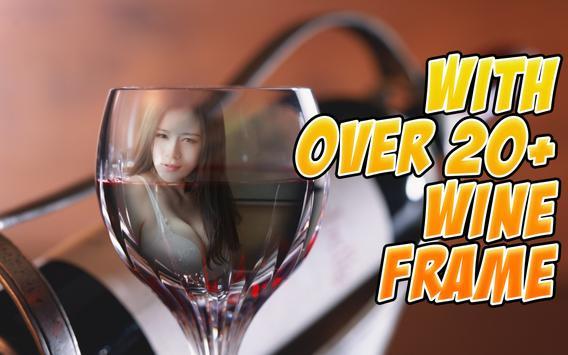 Wine Glass Photo Frames HD apk screenshot