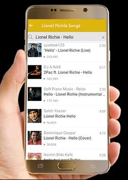 Lionel Richie Songs List screenshot 4