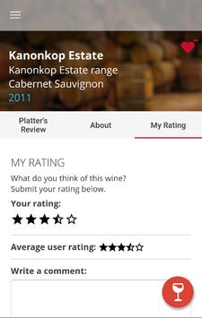 Platter's Wine Guide apk screenshot