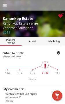 Platter's Wine Guide apk screenshot