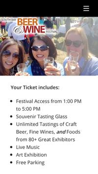 Southbay Beer and Wine Festival screenshot 3