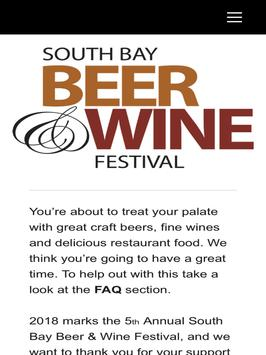Southbay Beer and Wine Festival screenshot 5