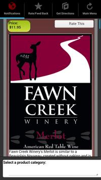 Fawn Creek Winery Mobile App apk screenshot