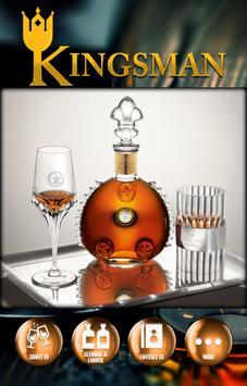 Kingsman Wine and Spirits poster