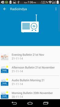 RadioIndya (BETA) apk screenshot
