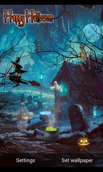 Halloween Live Wallpaper 2015 apk screenshot