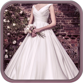 Wedding Dress Photo Suit icon