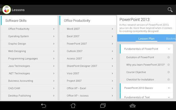 VPMMSkills for Tablet apk screenshot