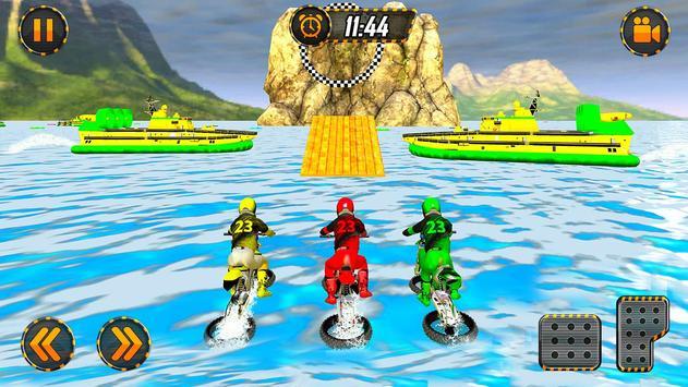 Beach Bike Water Surfing Challenge Racing Game screenshot 3