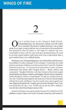 Wings of Fire- PDF book. screenshot 3