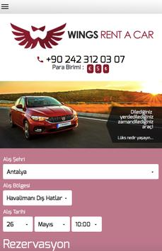 Wings Rent a Car poster