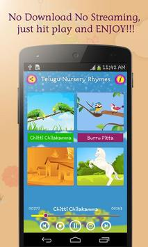 50 Telugu Nursery Rhymes screenshot 1