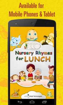 Nursery Rhymes For Lunch poster