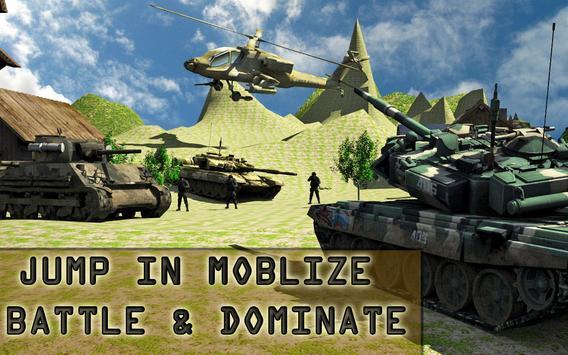 Army Fighter Tank Simulator screenshot 11
