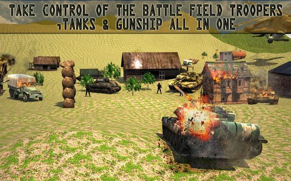 Army Fighter Tank Simulator screenshot 6