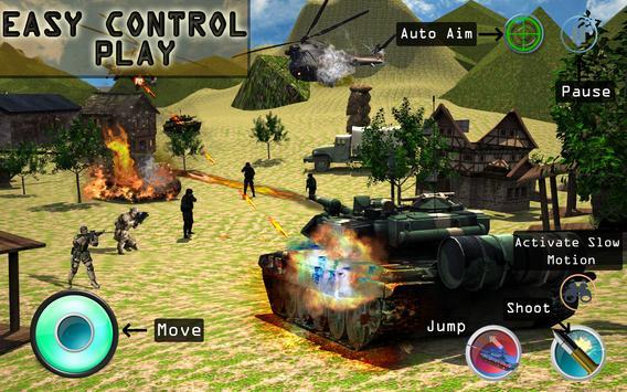 Army Fighter Tank Simulator screenshot 8