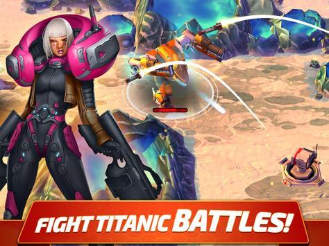 Forge of Titans: Mech Wars apk screenshot