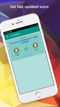 Cricket Live Fast Score apk screenshot