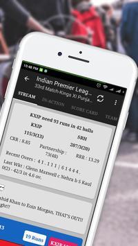 Cricket Live Score apk screenshot